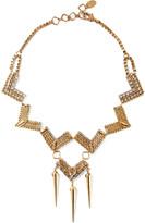 Erickson Beamon Awaken gold-plated Swarovski crystal necklace