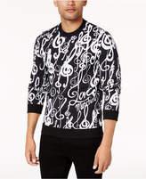 Love Moschino Men's Music-Print Sweatshirt