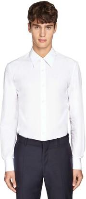 Alexander McQueen Stretch Cotton Poplin Shirt