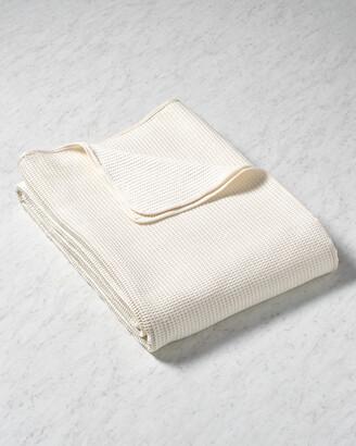 Belle Epoque Cotton Waffle Weave Blanket