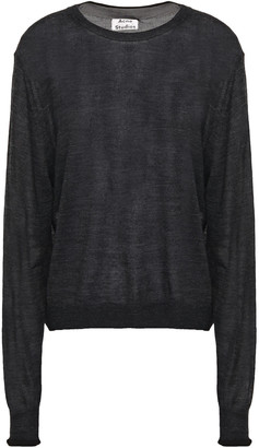 Acne Studios Kelsie Melange Knitted Sweater