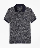 Brooks Brothers Slim Fit Shell Print Polo Shirt