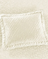 Martha Stewart Collection Collection Flowering Trellis Ivory Standard Sham