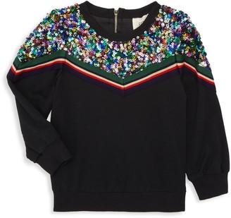 Hannah Banana Little Girl's & Girl's Embellished Sweater