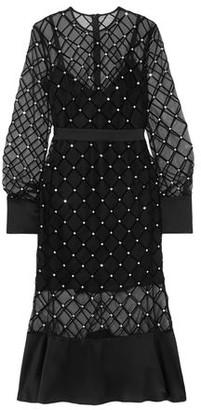 David Koma 3/4 length dress