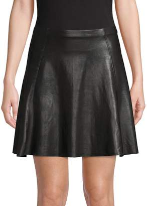Spanx Faux Leather Mini Skirt