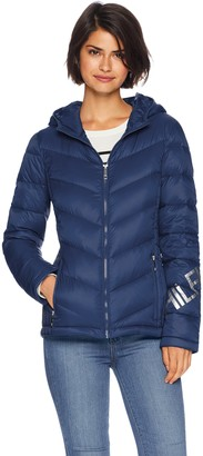 Tommy Hilfiger Women's Quilted Hooded Packable Puffer Jacket