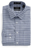 Nordstrom Smartcare(TM) Trim Fit Houndstooth Dress Shirt
