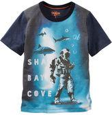 Osh Kosh Sublimated Shark Print Tee