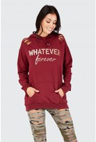 Select Fashion FOREVER DESTROYED HOODIE - size 8