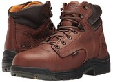 Timberland TITAN(r) 6 Alloy Safety Toe (Coffee Full-Grain Leather) Men's Work Lace-up Boots