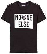 Diesel Black No One Else Print Tee