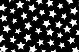 Camilla And Marc SheetWorld Fitted Pack N Play Sheet - Primary Stars White On Black Woven - Made In USA - 29.5 inches x 42 inches (74.9 cm x 106.7 cm)