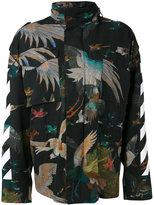 Off-White bird print jacket - women - Cotton/Polyester - XS