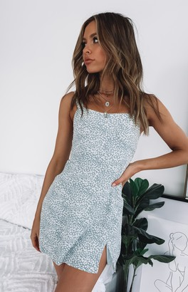 Bb Exclusive Isabella Dress Blue Floral