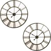 Amalfi by Rangoni Frame Clock, Large (Set of 2)