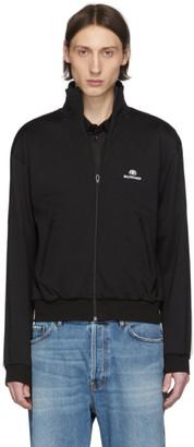 Balenciaga Black Logo Track Jacket