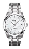 Tissot Women's 32mm Steel Bracelet & Case Automatic Watch T0352071111600