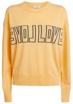 Sandro Paris Love Wool-Cashmere Sweater