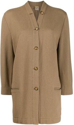 Krizia Pre Owned 1970s oversized jacket