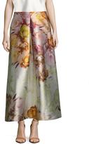 ABS by Allen Schwartz Women's Tafetta Floral Print A Line Skirt