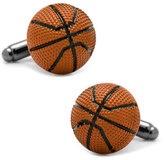 Cufflinks Inc. 3D Basketball Cuff Links