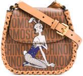 Moschino bunny print shoulder bag
