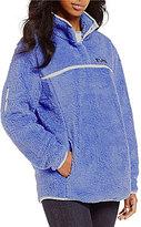 Lauren James Aspen Sherpa Fleece Pullover