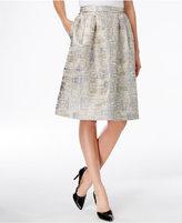 Calvin Klein Jacquard A-Line Skirt