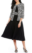 Jessica Howard Floral 2-Piece Jacket Dress