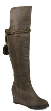 Journee Collection Jezebel Over The Knee Wedge Boot
