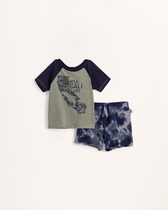 Splendid Baby Boy Cali Tee Set