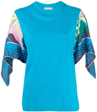 Emilio Pucci flared sleeved T-shirt