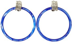 Balenciaga Hoop M earrings