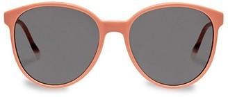 Le Specs Luxe Elan Vital 58MM Round Sunglasses