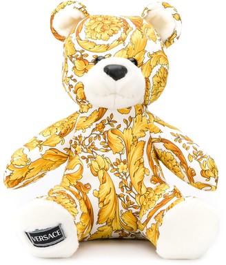 Versace Baroque Print Teddybear