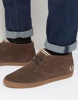 Fred Perry Byron Mid Suede Chukka Boots