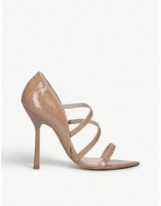 Carvela Gravitate stiletto heel leather sandals