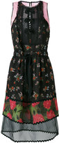 Coach floral patchwork dress - women - Silk/Cotton/Polyamide/Cupro - 2