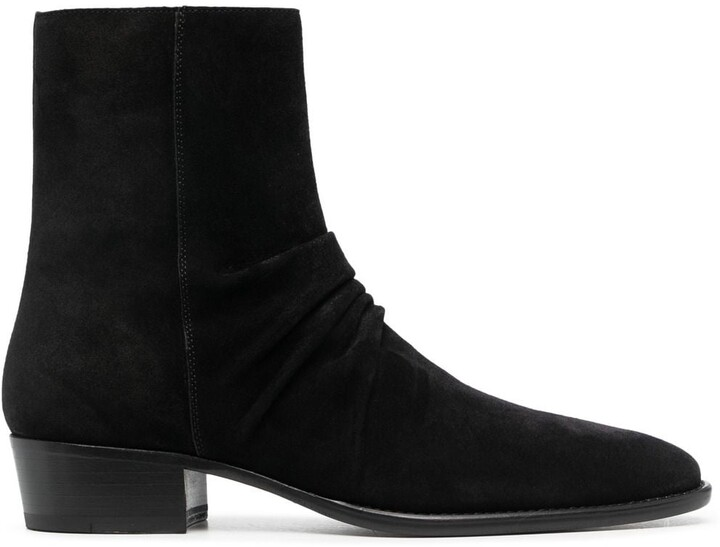Amiri Suede Ankle Boots
