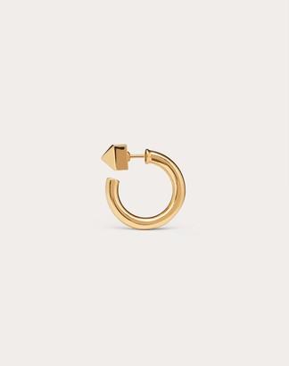 Valentino Rockstud Single Earring Women Gold OneSize