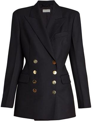 Dries Van Noten Double Breasted Wool Jacket
