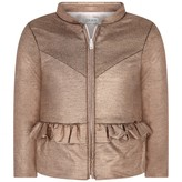 Ikks IKKSGirls Metallic Copper Cardigan