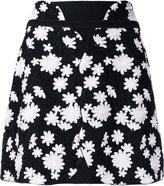 Giambattista Valli floral embroidered mini skirt - women - Cotton/Polyamide/Polyester - 38