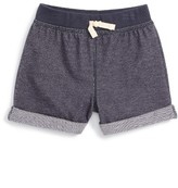 Tea Collection Toddler Girl's Cuffed Knit Shorts
