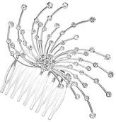Crystal Starburst Hair Comb