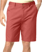 Geoffrey Beene Big and Tall Extender Waist Flat Front Shorts