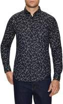 Naked & Famous Denim Men's Printed Button-Down Sportshirt