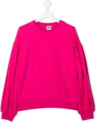 Karl Lagerfeld Paris TEEN Choupette sweatshirt
