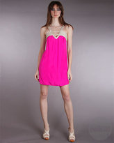 Twelfth St. By Cynthia Vincent by Cynthia Vincent Braided Rope Trim Dress